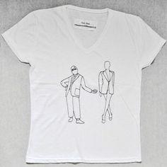T-Shirt Uomo V  G.Jones-Mr.Bean by Tuo tua