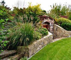 Backyard Garden Design, Backyard Landscaping, Above Ground Storm Shelters, Cellar Design, Permaculture Design, Root Cellar, Underground Homes, Landscape Design, Architecture