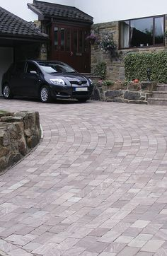 block paving driveway ideas google search outdoors. Black Bedroom Furniture Sets. Home Design Ideas