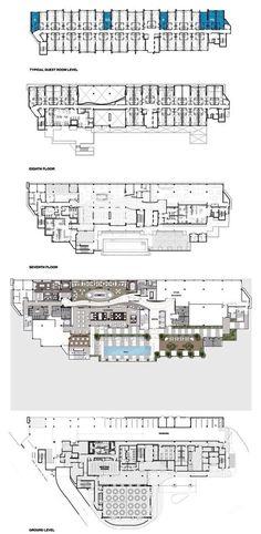 hotel design architecture floor plans & hotel design architektur grundrisse hotel design architecture floor plans & With Courtyard Floor Plans; Hotel Lobby Interior Design, Hotel Design Architecture, Modern Hotel Lobby, Hotel Room Design, Architecture Plan, Plan Hotel, Hotel Floor Plan, Parking Plan, Resort Plan