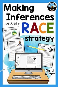 Races Writing Strategy, Race Writing, Writing Strategies, Writing Lessons, Teaching 6th Grade, 2nd Grade Writing, Third Grade Reading, Teaching Reading, Middle School Activities