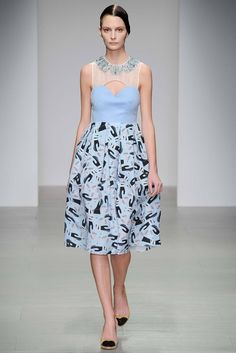 Holly Fulton Fall 2014 Ready-to-Wear Fashion Show - Suzie Bird