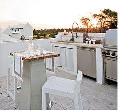 Rooftop Kitchen..