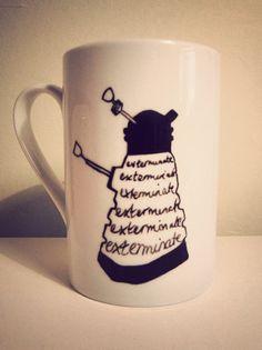 Doctor who dalek mug