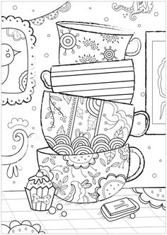352 Best Coloring Pages For Adults And Children Images On Pinterest