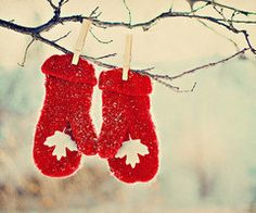 :) Thought of YOU my Canadian friend JAN !!!  I have the mittens courtesy of YOU  <3