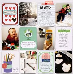 Product Spotlight * Becky Higgins - Themed Project Life Cards*