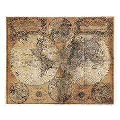 Maisons du monde - Tela Mappamondo