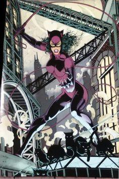 Catwoman Art by Jim Balent