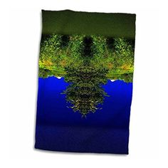 3dRose DYLAN SEIBOLD - PHOTO ABSTRACTION - TREE BEARD FACE - #Towel  by 3dRose LLC  Link: