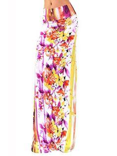Florals Maxi Skirt
