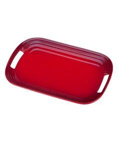 Le Creuset Cerise Serving Platter   zulily