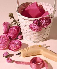 Easter flower basket--gotta have an easter basket for everyone!