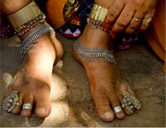 Ankle Jewelry or Payal or Jhanjhar Traditions of Asia