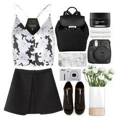 """""""// justice"""" by unicornskitkat ❤ liked on Polyvore featuring Alexander Wang, Shoe Cult, Topshop, LSA International, Nikon, Linum Home Textiles and Koh Gen Do"""