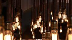 LOS Symi bistro bar by Input Creative Studio, Symi Island Greece restaurant bar Creative Studio, Bistro Bar, Treehouse Cabins, Wall Lights, Ceiling Lights, Restaurant Interior Design, Design Furniture, Interior Lighting, Lighting Ideas