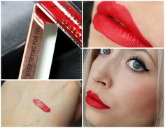 Blushaholic:  Overkill for my lips  MakeUp Revolution  Salvation Velvet Matte Lip Lacquer-Keep trying for you