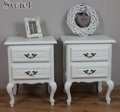 Witte Brocante Nachtkastjes.12 Beste Afbeeldingen Van Nachtkastjes Painted Furniture Vintage
