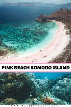 Pink Beach Komodo Island is a pink sand beach that's a serious contender for one of the most beautiful beaches in the world. Amazing Destinations, Holiday Destinations, Travel Destinations, Lombok, New Travel, Group Travel, Ultimate Travel, Komodo Island, Pink Sand Beach