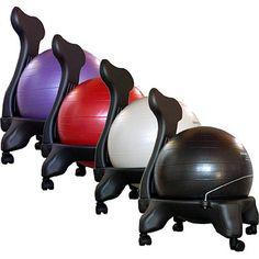 Isokinetics Balance / Exercise Ball Chair   Wayfair