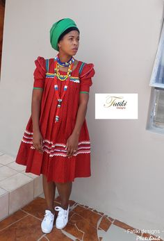 Sepedi traditional attire Sepedi Traditional Dresses, African Fashion, Summer Dresses, How To Wear, Inspiration, Design, Africa Fashion, Biblical Inspiration, African Fashion Style
