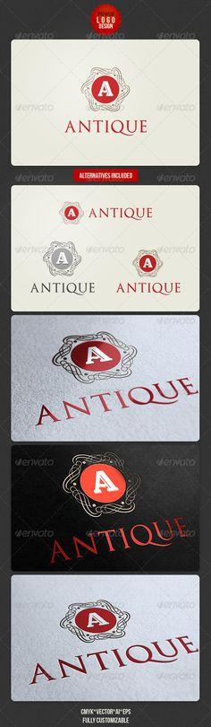 Antique Retro Logo Design - graphicriver.net/item/antique-retro-logo-design/2733310?ref=cruzine