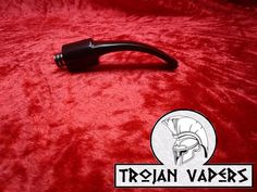 Pipe style Vaping Drip tip for any RDA,RBA c/w Dual O-rings. | eBay