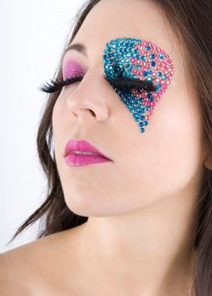 Stick art studio school #fantasy makeup