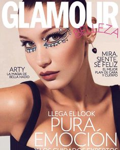 #bellahadid on the cover of @glamourspain may 2018