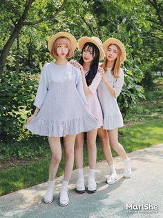 Look Fashion, Fashion Beauty, Girl Fashion, Fashion Dresses, Couple Outfits, Couple Clothes, Japanese Fashion, Korean Fashion, Korean Outfits