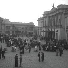 Bogota Antigua _Estación de la sábana en su inauguración año 1917