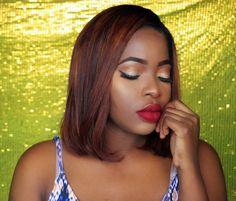 Classic Makeup look for black girls | Maquiagem  clássica para pele negra