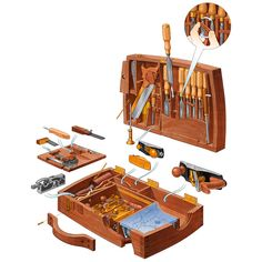 Woodworking | John Hartman Illustration