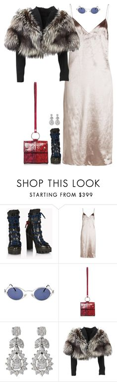 """Untitled #135"" by findingfantasyluxe ❤ liked on Polyvore featuring Dsquared2, rag & bone, Karl Lagerfeld, Diamond Scene and Lolita Lempicka"