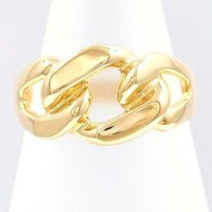 303a329299bfd eBay  Sponsored Jewelry 18K Yellow gold Ring 11Japan size Free shipping Used