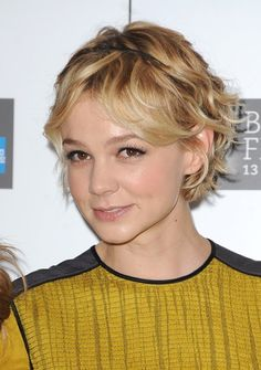 Hollywood and Bollywood Celebrities: Carey Mulligan Hair Styles