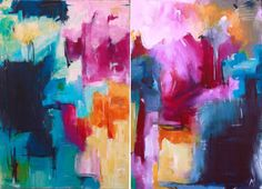 Our Little Truth Diptych