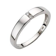 ErnestJones (fotad)  9ct white gold diamond ring - Product number 6756735  £199