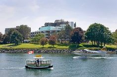 Inn at Laurel Point (Victoria, Canada) Great Places, Places Ive Been, West Coast Canada, Hotel Inn, Victoria Harbour, Harbor View, Vancouver Island, Honeymoon Destinations, British Columbia