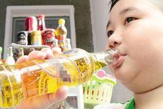 Ikids - đồ chơi mẫu giáo — Trẻ uống nhiều nước tăng lực gây hại cho sức khỏe