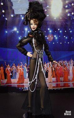 Miss Croatia ( John Galliano dress )
