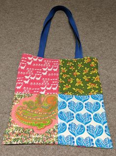Patchwork Tote for RB Side 1