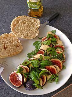 Feigen - Mozzarella - Salat