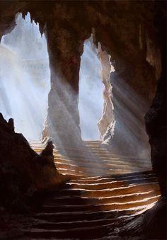 Khao Luang cave by ThreeDeee.deviantart.com on @DeviantArt