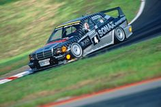 The Mercedes 190e was a natural competitor for the BMW E30 M3