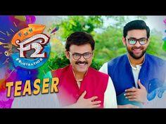 Watch F2 Movie Teaser Starring Venkatesh, Varun Tej, Tamannaah, Mehreen Pirzada, Anil Ravipudi, Dil Raju, F2 Telugu Movie Teaser, F2 Teaser