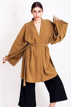 SALES - now was Caramel kimono by Chicks on Chic Sales Now, Tight Dresses, Corset, Caramel, Vintage Outfits, Kimono, Chic, Handmade, How To Wear
