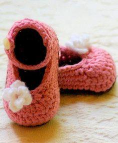 Crochet Patterns Mary Janes Pattern