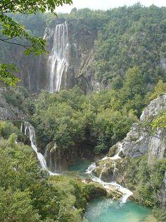 Plitvice overzicht Kroatië