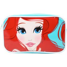 Disney The Little Mermaid Ariel Makeup Bag Set ($20) ❤ liked on Polyvore featuring beauty products, beauty accessories, bags & cases, toiletry bag, travel bag, disney, dop kit and makeup bag case